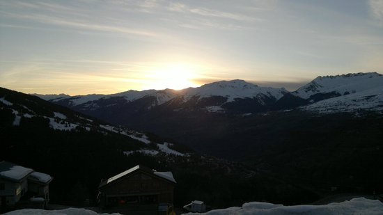 Club Med Peisey-Vallandry: View from terrace