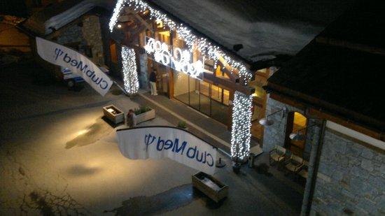 Club Med Peisey-Vallandry: Entry