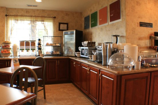 Comfort Inn Humboldt Bay: breakfast area