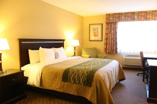 Comfort Inn Humboldt Bay: non-smoking king room