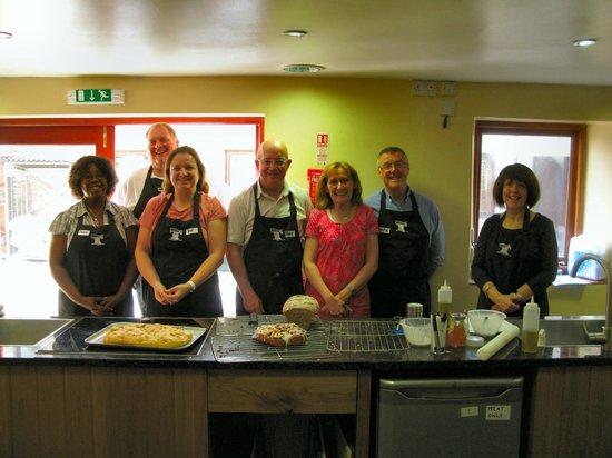 Tideswell School of Food: The baking team!