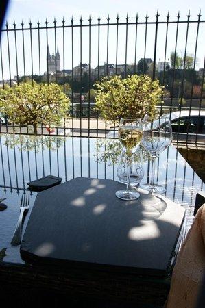 Le favre d'Anne -Loft Culinaire : terrasse agréable à souhait
