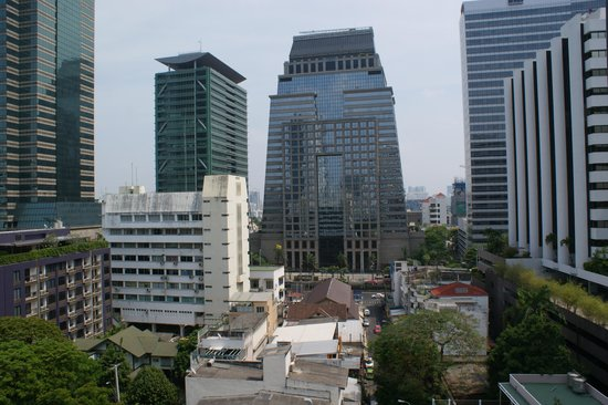 FuramaXclusive Sathorn: The view from room 1107
