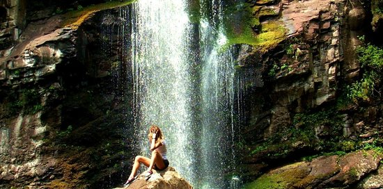 Pousada Jasmim: cascata
