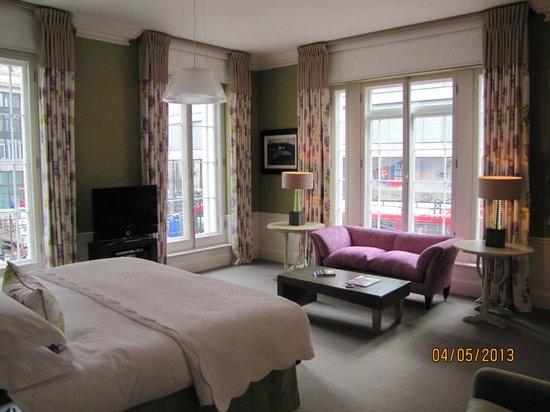 Haymarket Hotel: Junior suite room 106 - 1st floor