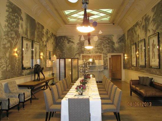 Haymarket Hotel: Private dining room