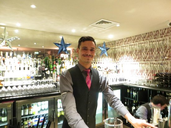 Haymarket Hotel: Ask Yuri for his specialty cocktail of the evening!