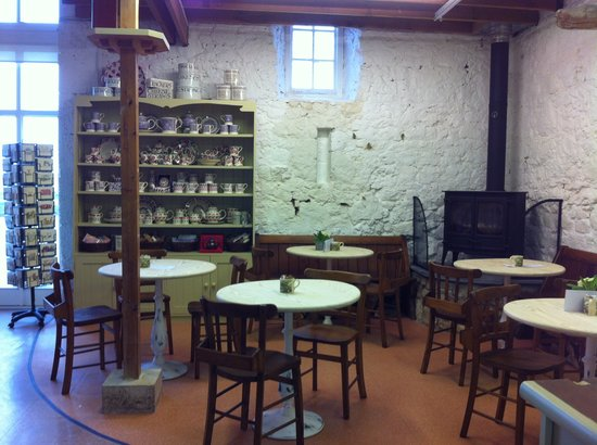 Chessell Pottery Barns: New seating by wood burner at chessell
