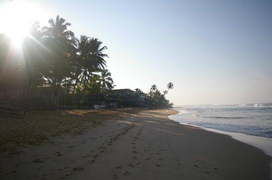 Drifters Hotel and Beach Restaurant: Plaża