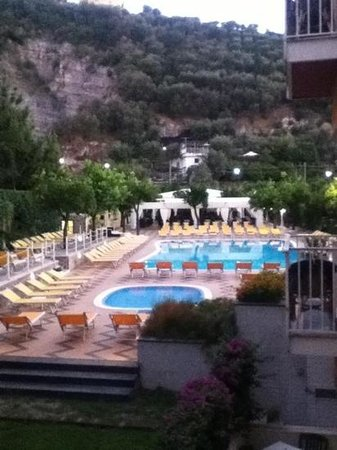 Grand Hotel Parco Del Sole: view from out balcony