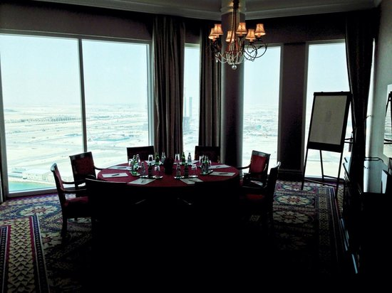 The Ritz-Carlton, Doha: Club floor meeting room
