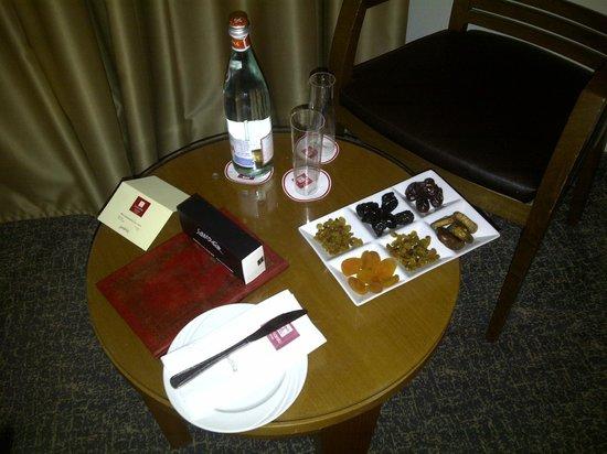 Leonardo Plaza Hotel Tiberias: obsequio de bienvenida