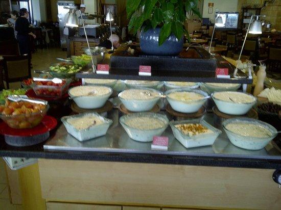 Leonardo Plaza Hotel Tiberias: desayuno