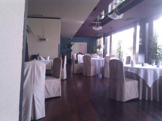 Tirana International Hotel & Conference Centre: salón panoramico