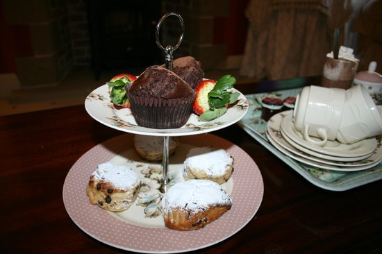 Felbrigg Lodge: Chocolate Afternoon Tea