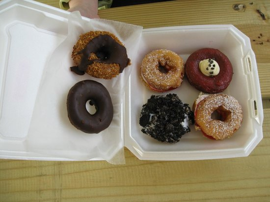 O'DoodleDoo's Donuts: Betcha you can't eat just one!