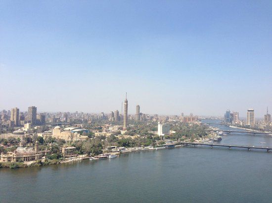 Four Seasons Hotel Cairo at Nile Plaza: View from room 2317