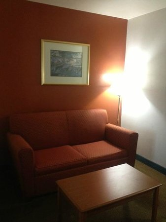 Econo Lodge Inn & Suites: SITTING AREA