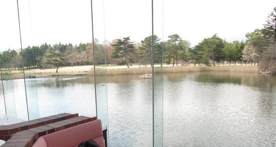 Karuizawa Prince Hotel East : Lunch with a fantastic view