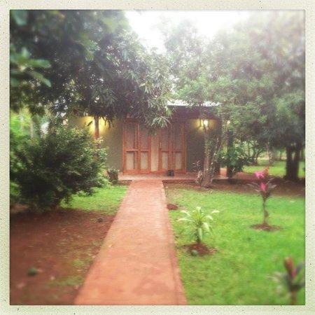 """Casa Yaguarete: Entrance to our """"casa"""""""