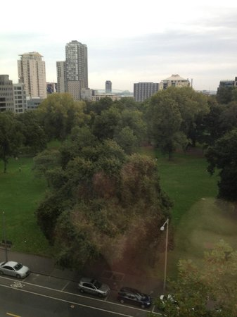 Radisson on Flagstaff Gardens: View from 6th floor