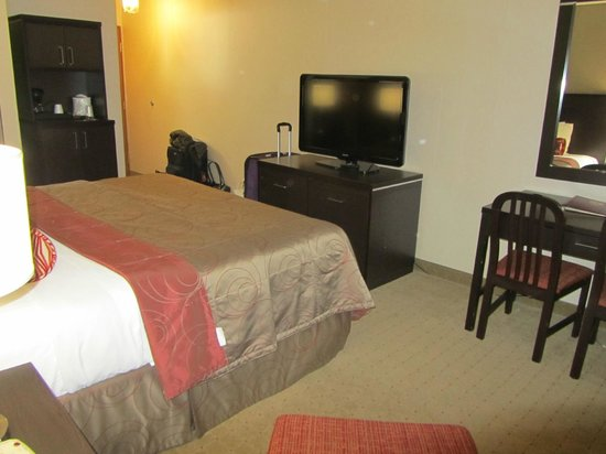 Admiral Inn Burlington: Our Room