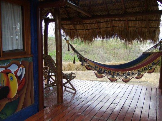 Hacienda Puerta Del Cielo Eco Spa : Casa Bela porch