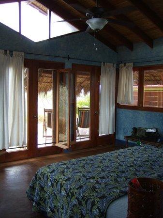 Hacienda Puerta Del Cielo Eco Spa : inside the spacious Casa Bela