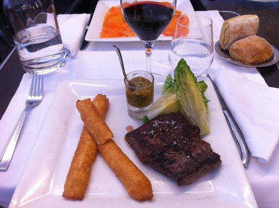 Brasserie Capoul : Angus steak with dauphne potatoes