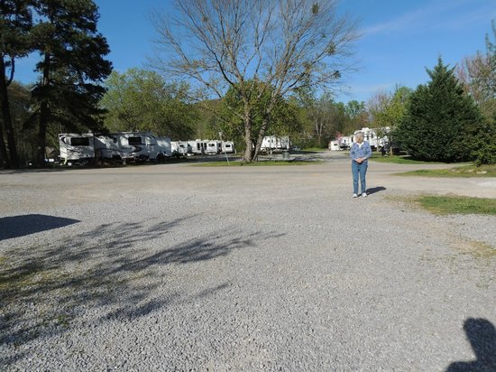 Raccoon Mountain RV Park and Campground: campground roads