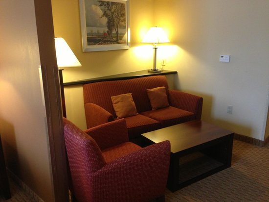 Comfort Suites Hummelstown-Hershey: Living Room Area (in suite)
