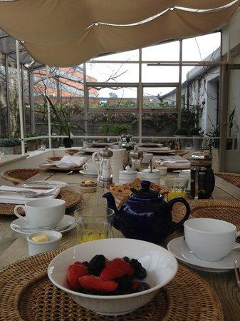 Number 31: Breakfast atrium