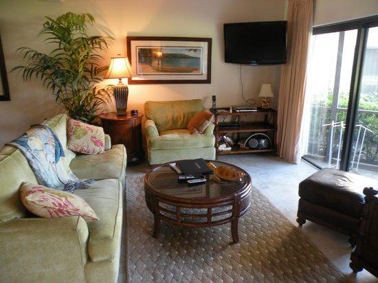 Plantana Condominiums: Family room