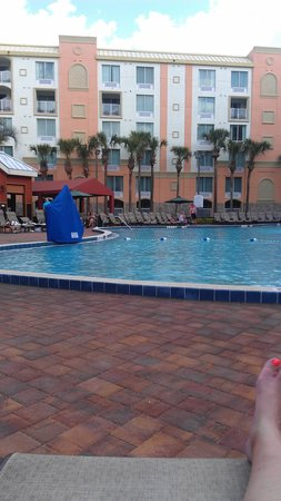 ‪‪Holiday Inn Resort Orlando-Lake Buena Vista‬: pool area‬