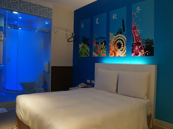 101 - S Hotel Ximen : Fashion Double room
