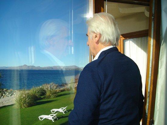 Cacique Inacayal Lake & Spa Hotel: Vista desde la habitación