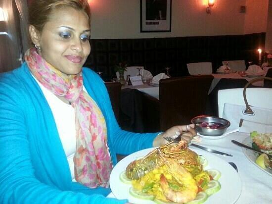 Golden gate Restaurant : jumbo prawns