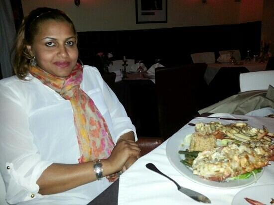 Golden gate Restaurant : this lobster was scrumptious