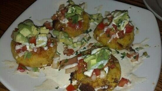 The Chop House : Gluten Free sweet corn tamale cakes!! Yum!