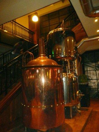 Shanghai Brewery(Hongmei Road) : inside on the 1st floor