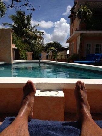 ليتل أرشيز بوتيك هوتل باربادوس: view from the subbed