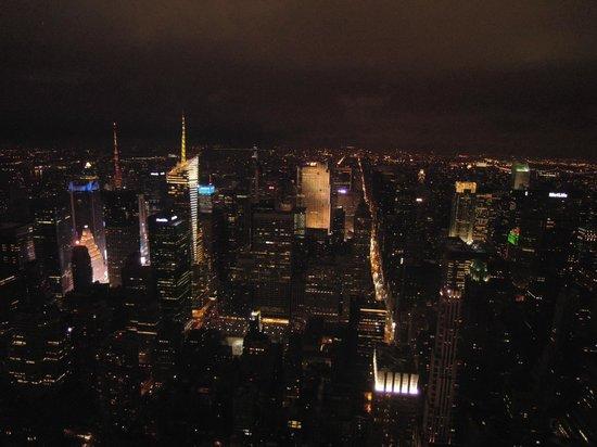 Vista de noche piso 86 photo de empire state building for Piso 86 empire state