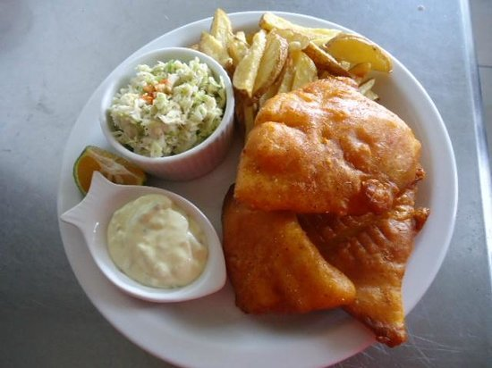 The Fish House: our famous fish & chips