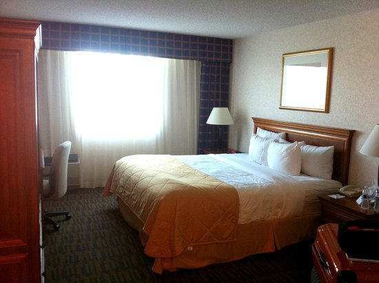 Clarion Hotel: Room 548