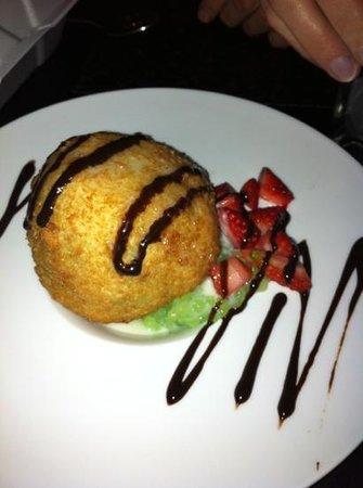 Sushi X: crème glacée frite