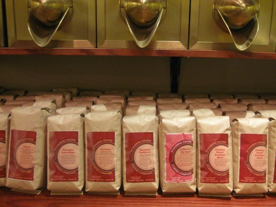 Standing Stone Coffee Company: In-house, fresh roasted coffee
