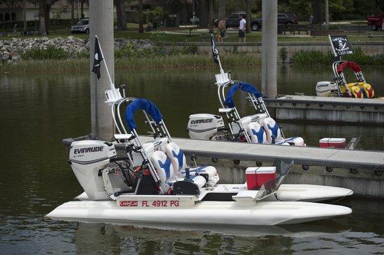 CraigCat Tours: the boats