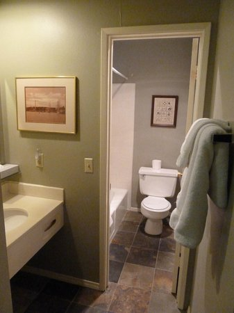 Cinnamon Bear Inn: Bathroom
