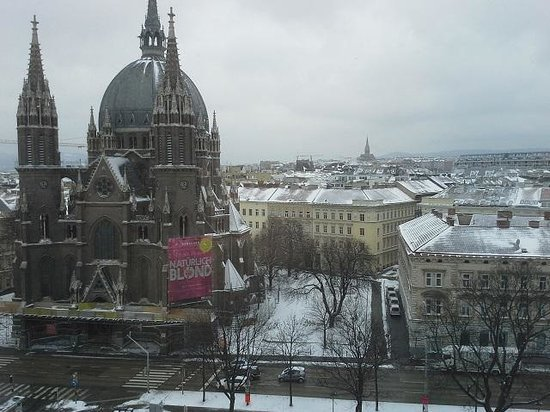 Hotel ibis Wien Mariahilf: View on Gurtel from the room