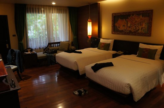 Siripanna Villa Resort & Spa : Twin room